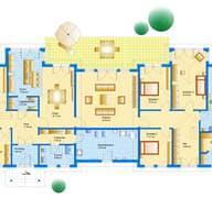 Bungalow Sonderplanung Grundriss