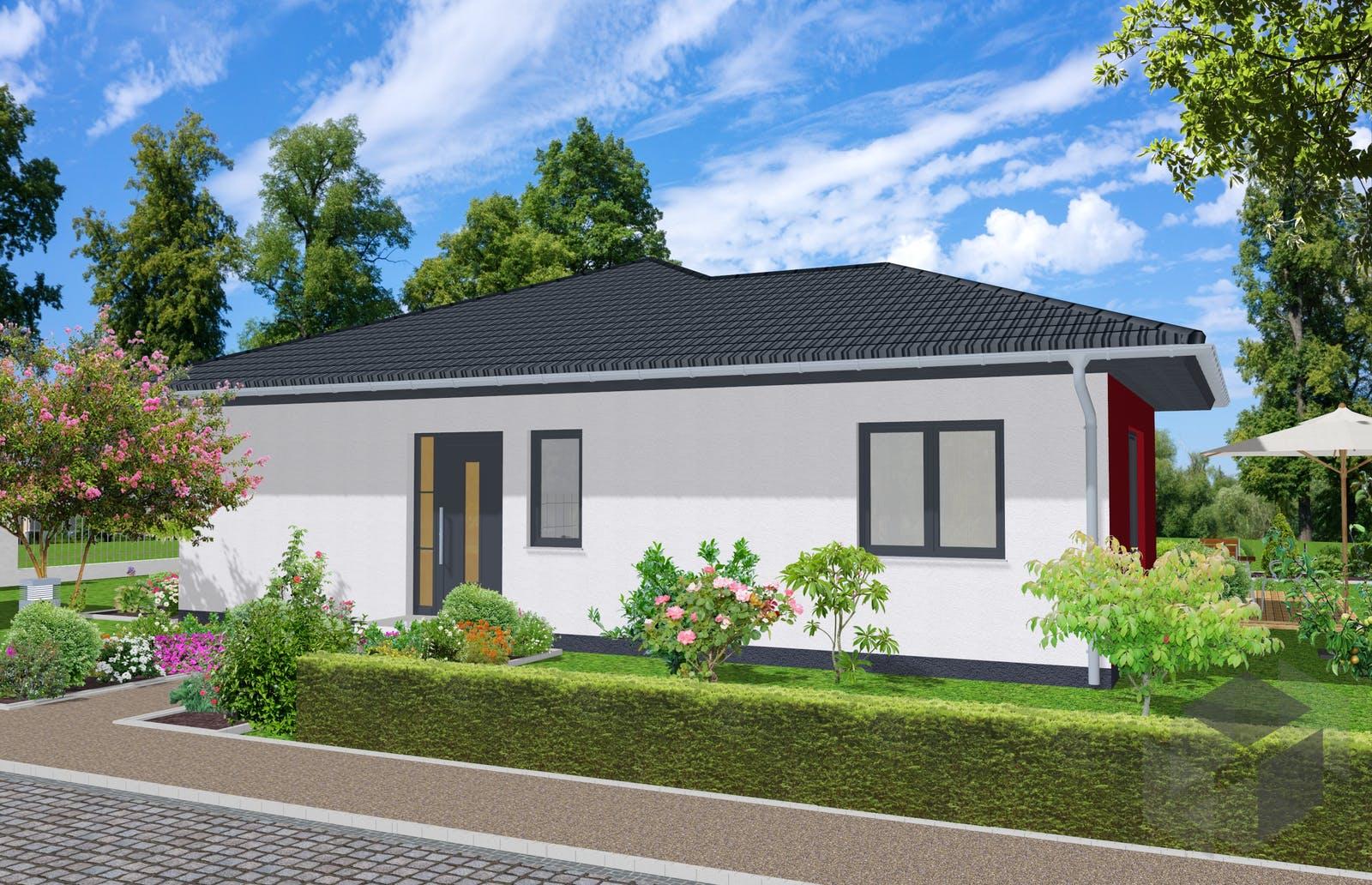 bungalow teltow von newe massivhaus. Black Bedroom Furniture Sets. Home Design Ideas