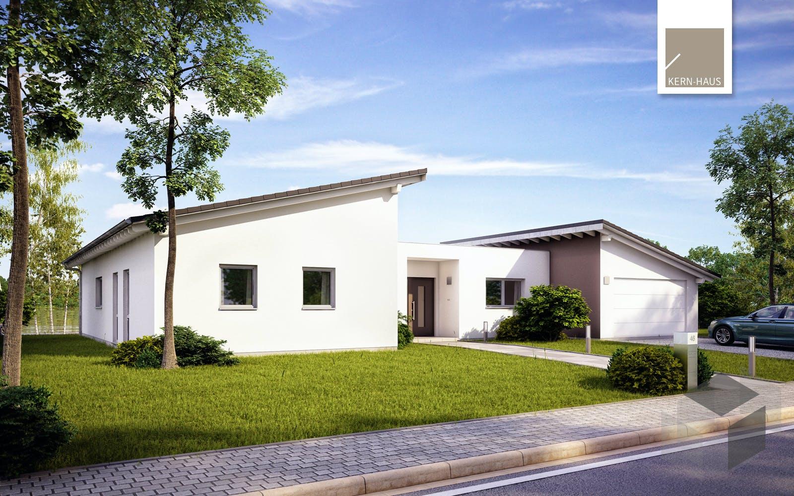 bungalow trio von kern haus komplette daten bersicht. Black Bedroom Furniture Sets. Home Design Ideas