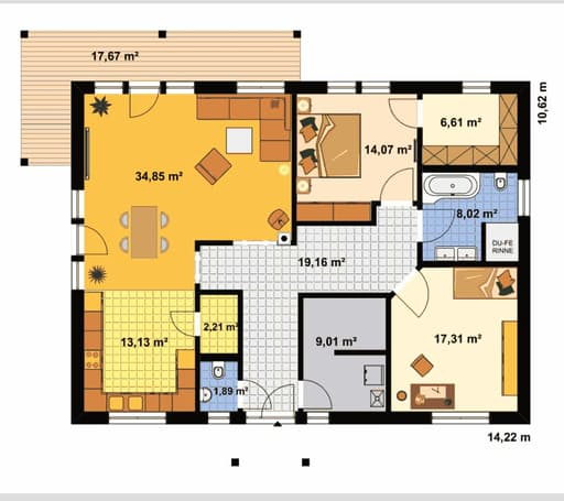 Bungalow Waldesruh floor_plans 0