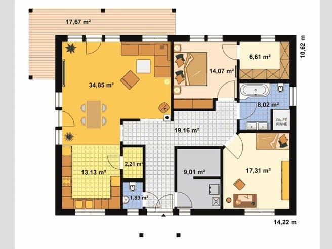 Bungalow Waldesruh floor_plans 0