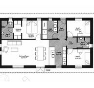 Bungalow 128 (inactive) Grundriss