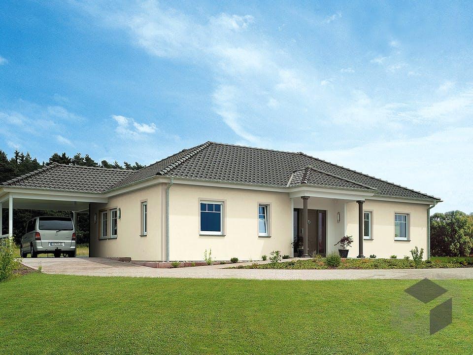 Bungalow 133 von Hanse Haus Außenansicht