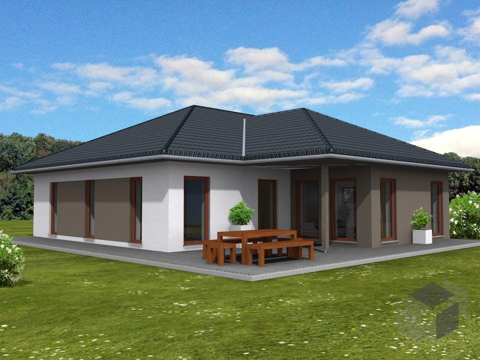 Bungalow 139 von Suckfüll - Unser Energiesparhaus Außenansicht