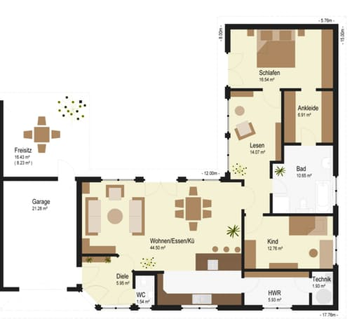 Bungalow 159 Floorplan 01