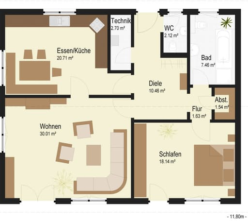 Bungalow 96 Floorplan 01