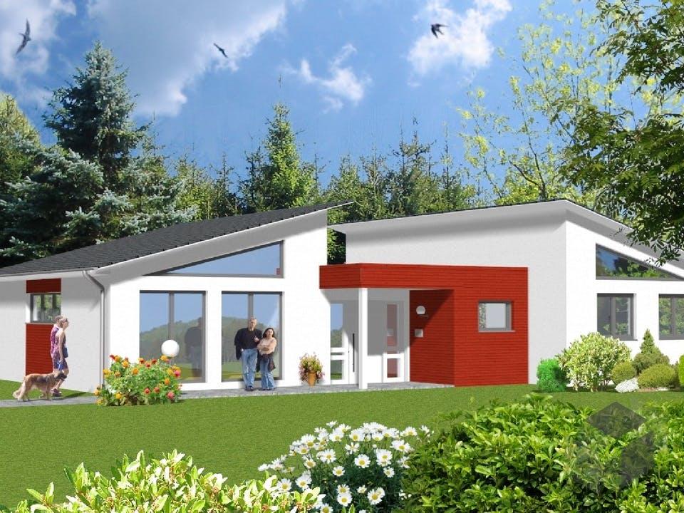 Designhaus von Tussa Holzhäuser Außenansicht