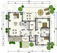 Designhaus Grundriss