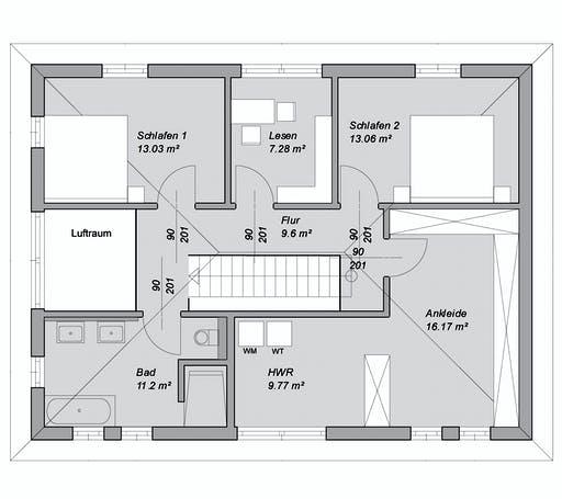 Bittermann & Weiss - Referenzhaus 5 Floorplan 2