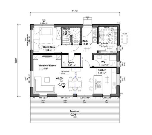 bauen.WIEWIR Chausseestraße 157 Floorplan 1
