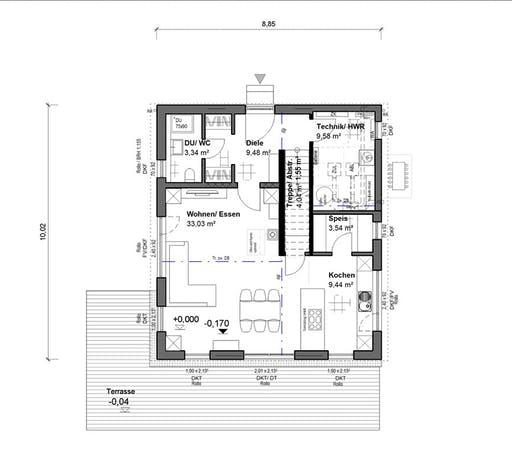 bauen.WIEWIR Chausseestraße 138 Floorplan 1