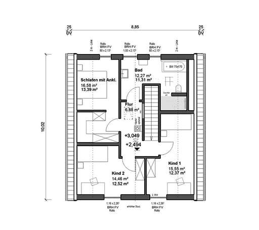 bauen.WIEWIR Chausseestraße 138 Floorplan 2