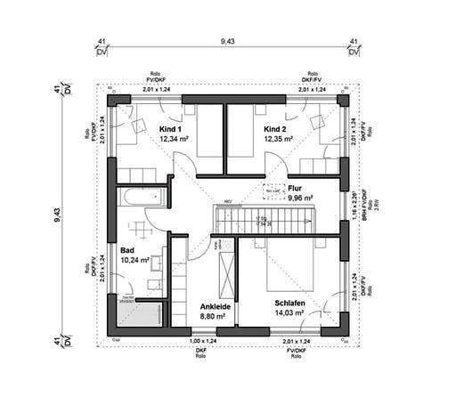 bauen.WIEWIR Schlossallee 134 Floorplan 2