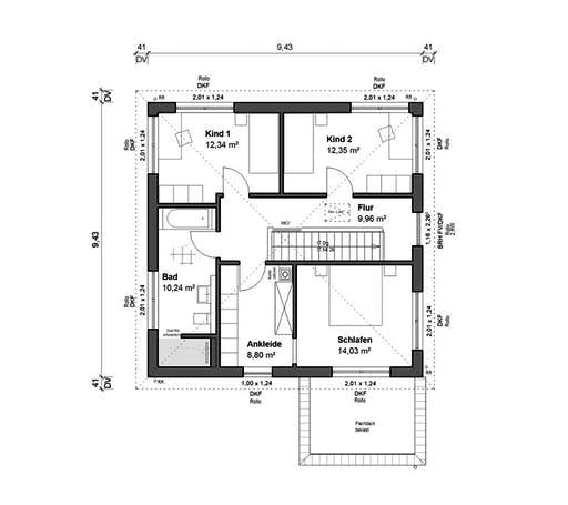 bauen.WIEWIR Schlossallee 151 Floorplan 2