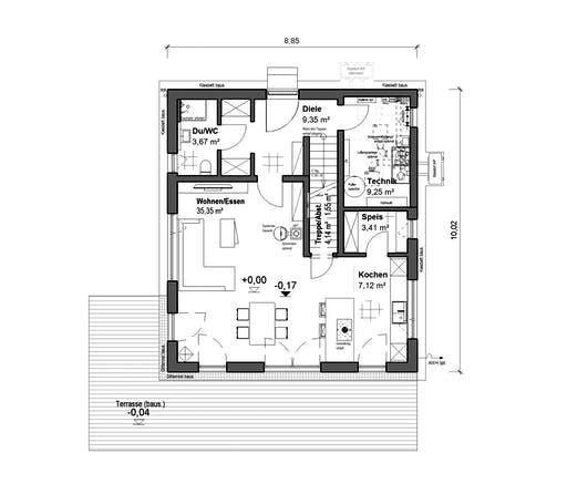 bauen.wiewir - Chausseestrasse 126 Floorplan 1