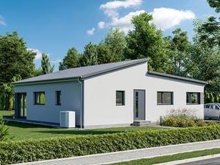 Goethestraße 111 - Pultdach von bauen.wiewir Außenansicht 1