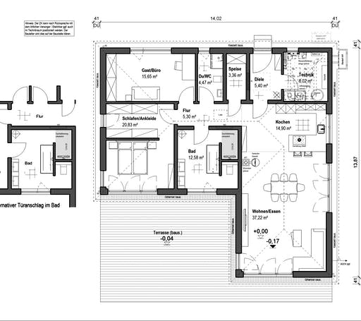bauen.wiewir - Lessingstrasse 128 Floorplan 1