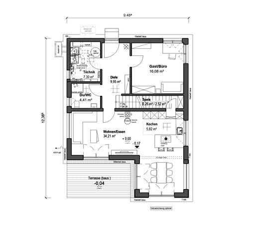 bauen.wiewir - Schlossallee 148 Floorplan 1