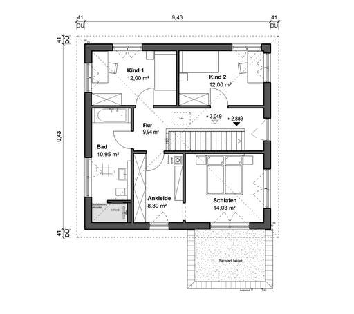 bauen.wiewir - Schlossallee 148 Floorplan 2