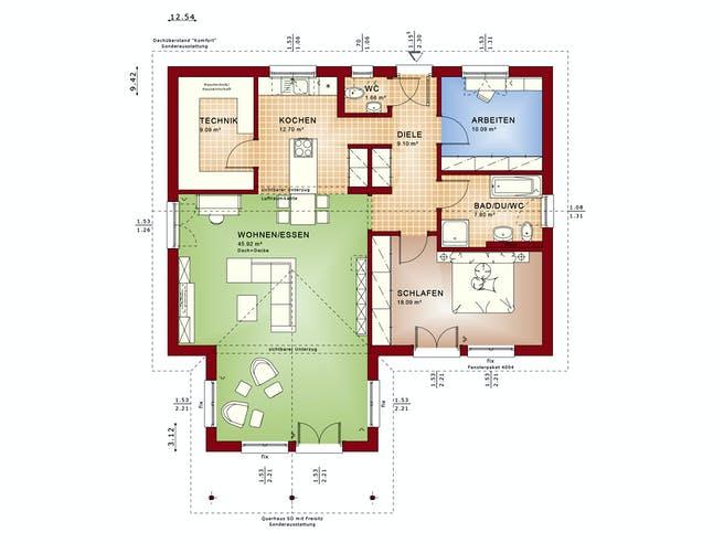 Bien Zenker Ambience 100 V2 Floorplan 1