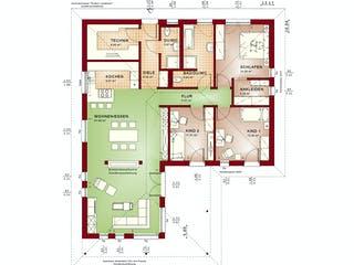 AMBIENCE 110 V3 von Bien-Zenker Grundriss 1