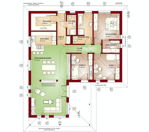 Bien Zenker Ambience 110 V3 Floorplan 1