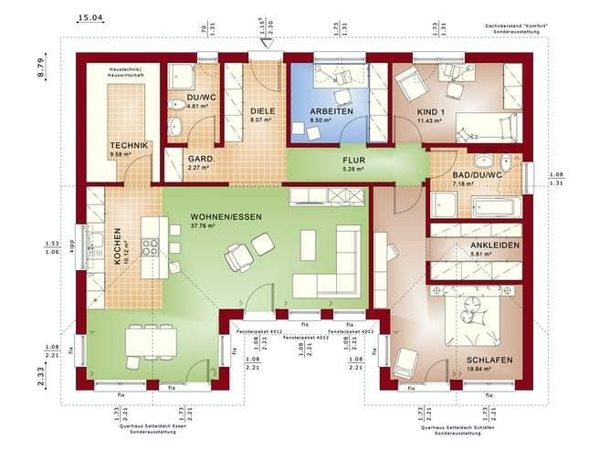 Bien Zenker Ambience 111 V2 Floorplan 1