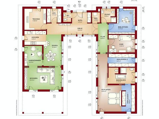 Bien Zenker Ambience 209 PD Floorplan 1