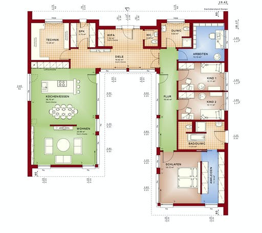 Bien Zenker Ambience 209 SD Floorplan 1