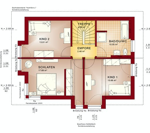 Bien Zenker Evolution 122 V6 Floorplan 2