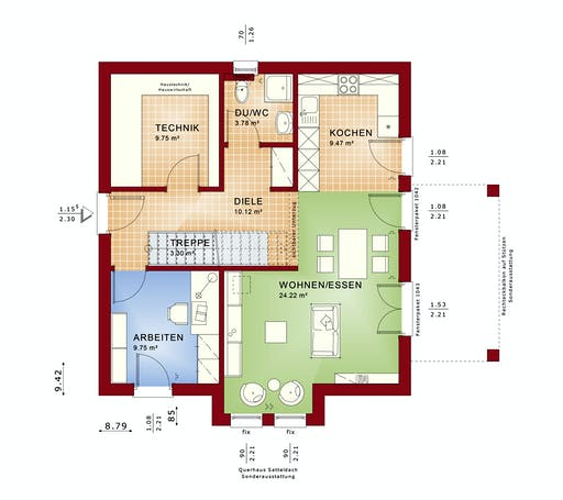 Bien Zenker Evolution 136 V3 Floorplan 1
