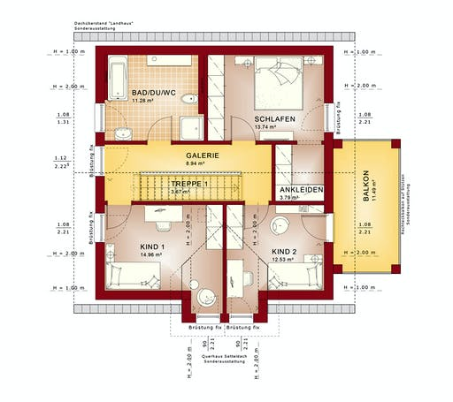 Bien Zenker Evolution 136 V3 Floorplan 2