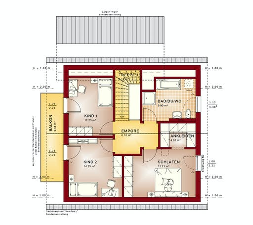 Bien Zenker Evolution 143 V4 Floorplan 2