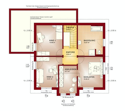 Bien Zenker Evolution 152 V7 Floorplan 2