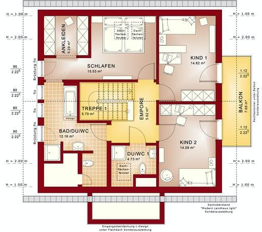 Bien Zenker - Fantastic 161 V3 Floorplan 2