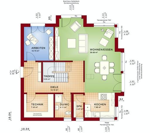 Bien Zenker - Fantastic 161 V4 Floorplan 1