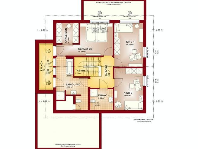 Bien Zenker - Fantastic 161 V5 Floorplan 2