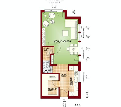 Bien Zenker - Celebration 100 V2 floorplan 1