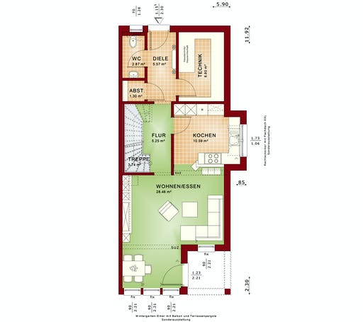 Bien Zenker - Celebration 114 V9 XL Floorplan 1