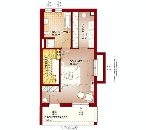 Bien Zenker - Celebration 114 V9 XL Floorplan 3