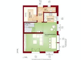 CELEBRATION 122 V2 L von Bien-Zenker Grundriss 1
