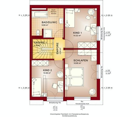 Bien Zenker - Celebration 122 V2 L Floorplan 2
