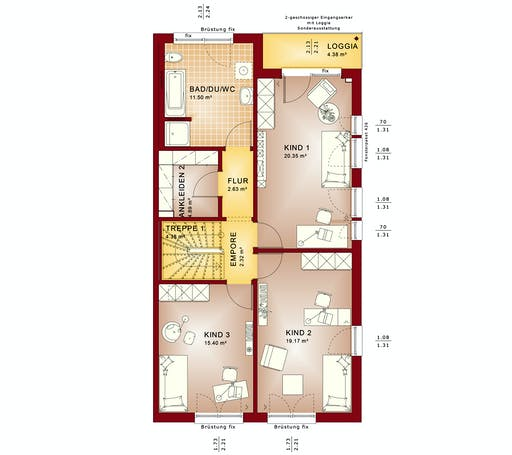 Bien Zenker - Celebration 139 V7 Floorplan 2