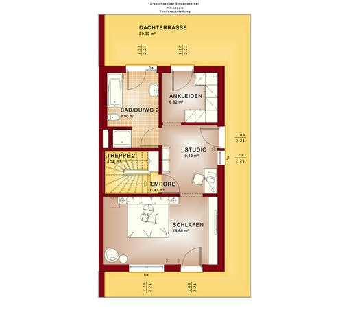 Bien Zenker - Celebration 139 V7 Floorplan 3