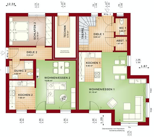 Bien Zenker - Celebration 207 V2 Floorplan 1