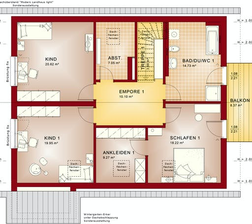 Bien Zenker - Celebration 207 V2 Floorplan 2
