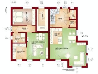CELEBRATION 207 V2 von Bien-Zenker Grundriss 1