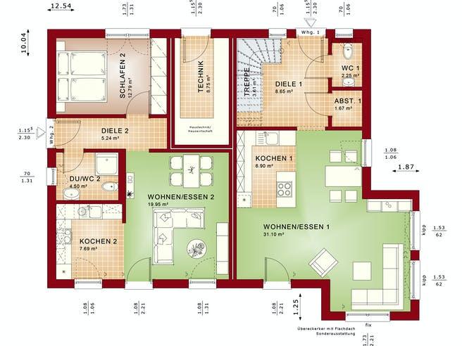 Bien Zenker - Celebration 207 V3 Floorplan 1