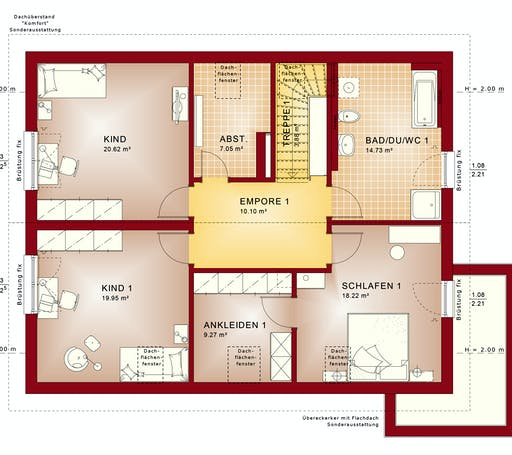 Bien Zenker - Celebration 207 V3 Floorplan 2