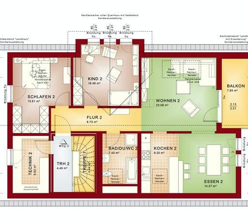 Bien Zenker - CELEBRATION 211 V2 Floorplan 2